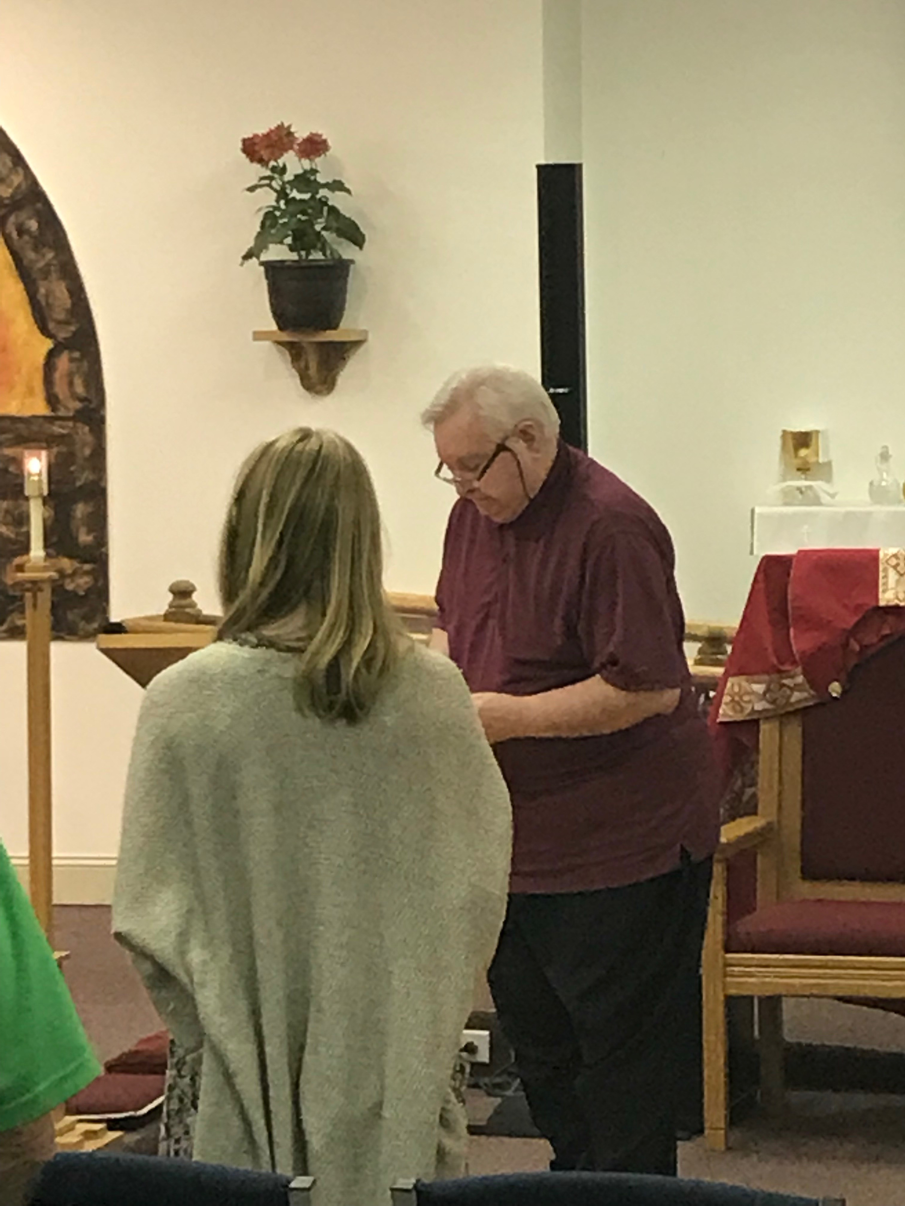 Induction of James Ramsey into St. Benedict